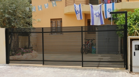 שערים לבית מאלומיניום