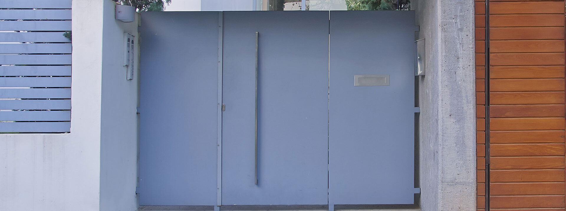 שער כניסה לבית - אנ.אס עבודות אלומיניום